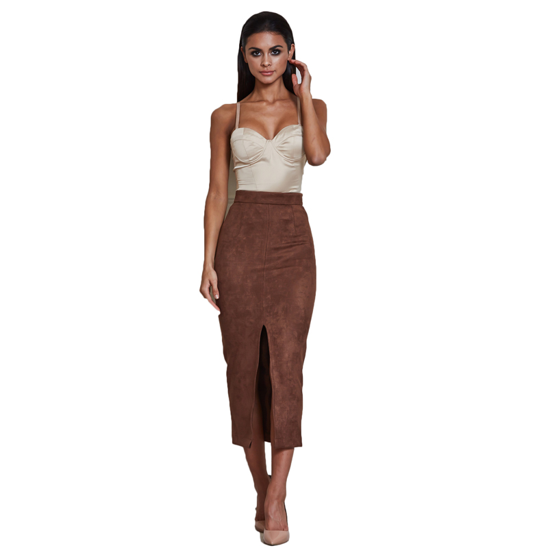 Brown Pencil Skirts Reviews - Online Shopping Brown Pencil Skirts ...