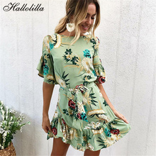 Summer Vintage Vestidos De Festa Hot Sale Women Dress Party Culd Beach Casual Sundresses Spring Fashion Poster Ladies Clothes