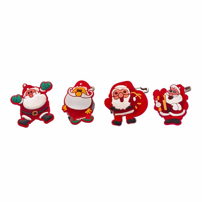 Hoomall クリスマス漫画雪ブローチ Led ライト光沢のある装飾のギフト服装飾ブローチ男性のための女性の装飾