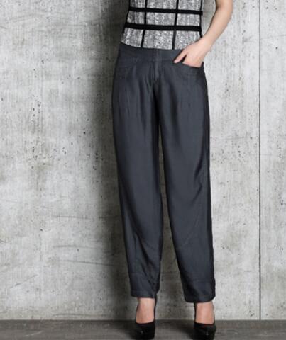 Tamaño Tencel Seb0901 Bloomers Harem Plus Cintura De Casual Negro Pantalones Alta Negro azul Nueva Azul Jeans Mujer Moda ZnEvPq7