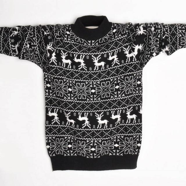 New year   male  boy fur cardigan sweater  thickening  FREE SHIPPING