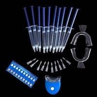 2016 Venta Caliente Sistema de blanqueamiento de Dientes Blanqueamiento Dental Kit Oral Gel Blanqueador de Dientes Apto para Hombres y Mujeres