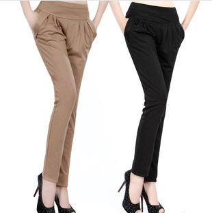 2014 New Arrival Look Slim Korean Fashionable Harem Pants with several colors Most Popular Casual Jeans for Women