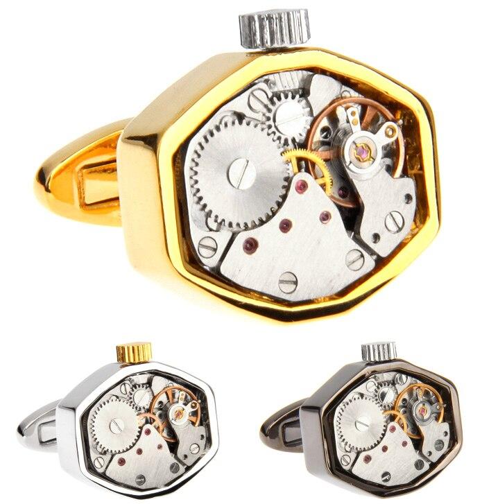 Fashion Designer Cufflinks for Men Jewelry Watch ...