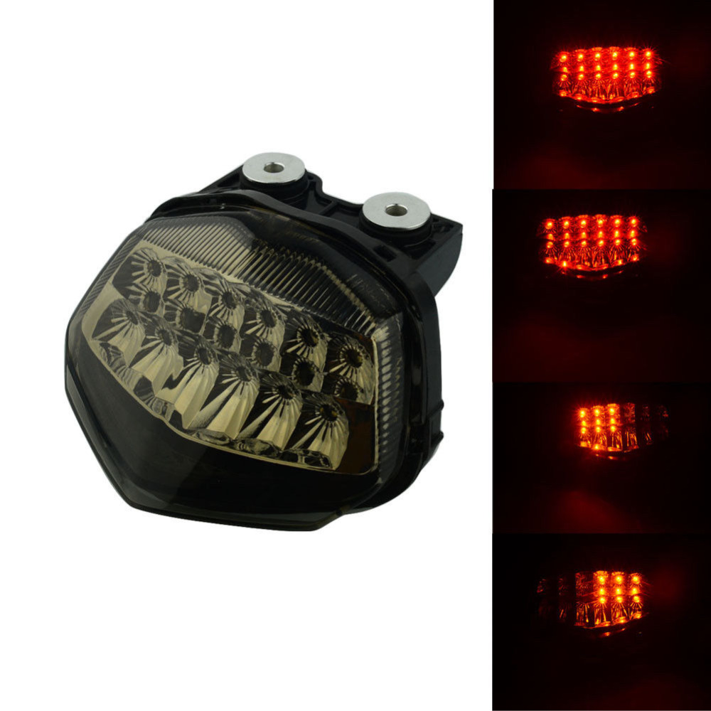 Motorcycle Led Brake Turn Signals Taillight Low Profile