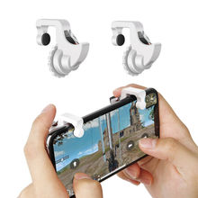 Купить с кэшбэком Wrumava PUBG Mobile Game Controller + L1 R1 Trigger Aim Button for iPhone Android Phone Gaming