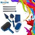 ZK30 дропшиппинг многофункциональная DIY Краска роликовая Кисть ручка инструмент Флокированный Edger домашний офис комната настенный бегун рол...