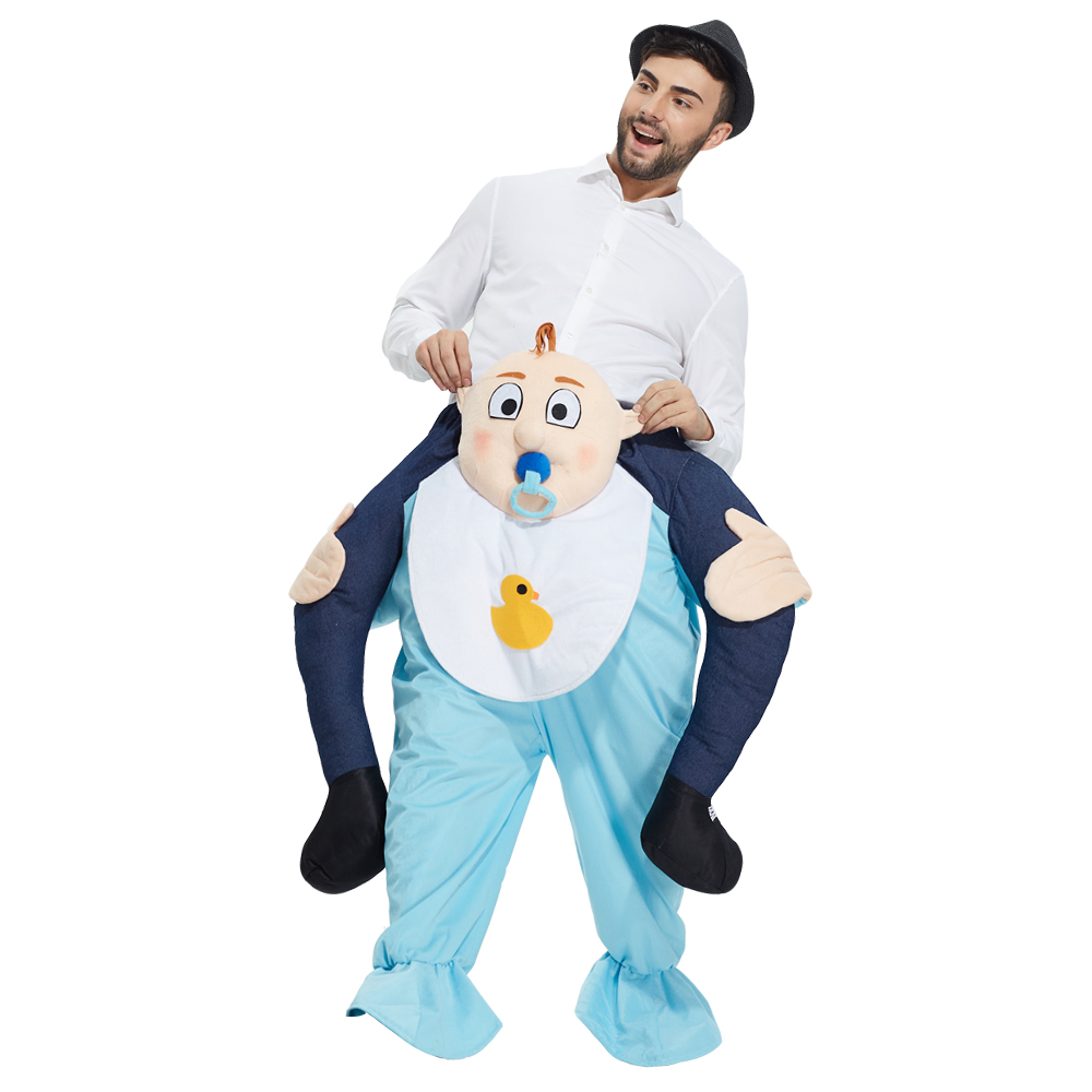 Baby Adults Fancy Dress Riding Piggy Back Mascot Fun Costume Outfit New