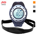 men's women sports digital Wristwatches Monitor heartbeat Stopwatch Calories Alarm Perpetual Calendar outdoor male female clocks