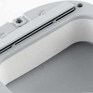 Image 2 - Originele Youpin Ninestars Smart Prullenbak Motion Sensor Auto Afdichting Led Inductie Cover Trash 7/10L Thuis Ashcan Bins