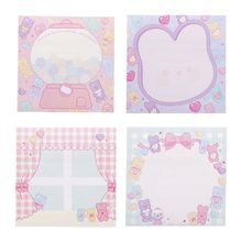 Kawaii Stationery Memo Pad Bookmark Creative Sweet Sticky Notes School Supplies Paper Sticker Korean