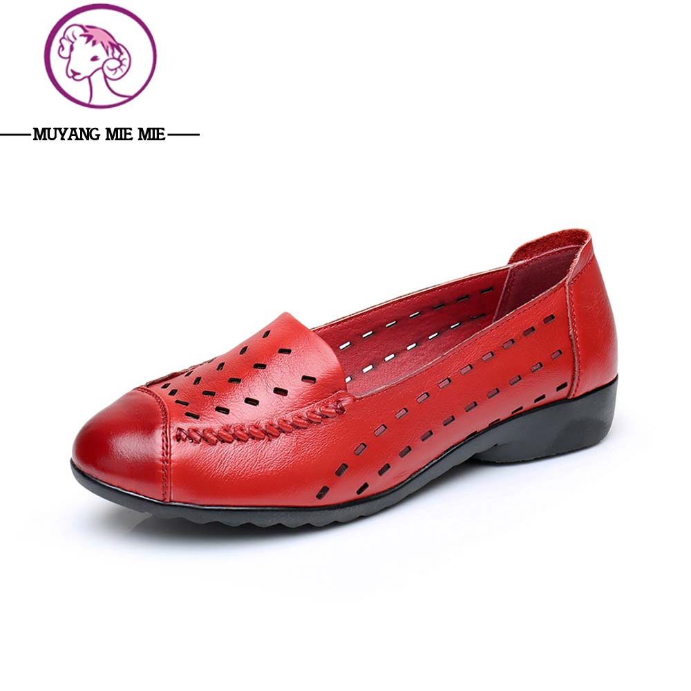 2017 Summer Women Flat Shoes Casual Ladies Leather Shoes Super Soft And Comfortable Lady Pointed Toe Shoes Women women s shoes 2017 summer new fashion footwear women s air network flat shoes breathable comfortable casual shoes jdt103