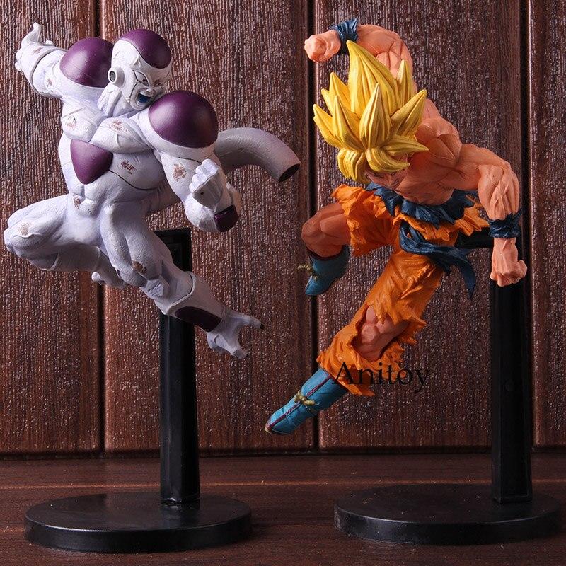 DBZ Dragon Ball Match Makers Full Power Freeza Frieza Super Saiyan Son Gokou Son Goku Action Figure PVC Collectible Model Toy