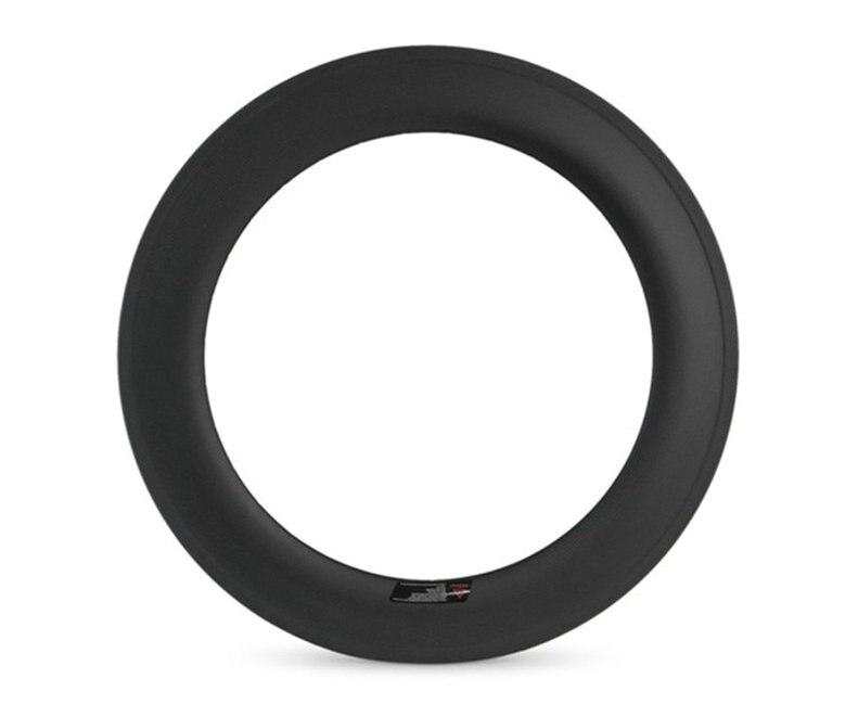Pneu en carbone Compatible jantes sans tube 700C 88 MM 25mm de large vélo de route Ruedas carbono carretera Compatible pour V & frein à disque