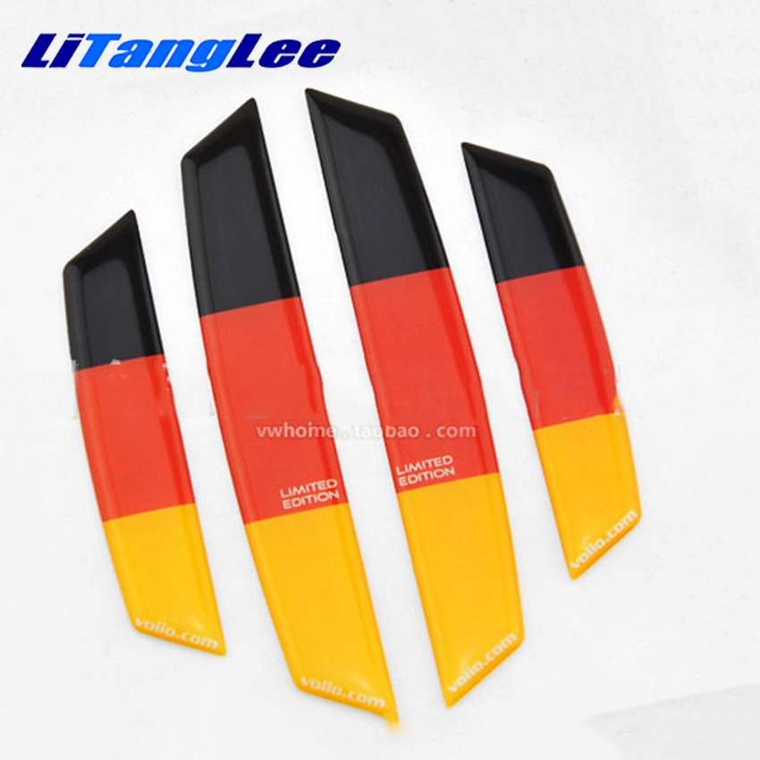 Litanglee Door Edge Guards Trim Molding Protection Anti Collision Strip Car Styling Germany Edition Decoration Sticker