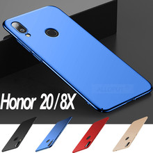 2019 Newest Plastic Hard PC Case For Honor 8X 20 Ultra Thin Matte Full Cover Phone Anti-Shock