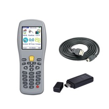 Wireless laser bar code scanner, handheld data terminal PDA for POS system and supermarket, bar code gun with storage