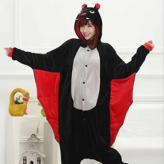 Kigurumi Panda Onesie para hombres mujeres Pijama Animal Unicornio ropa de dormir Onesies para adultos divertido franela caliente Onepiece mono