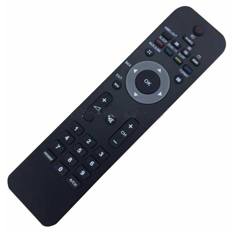 1 шт., Черный пульт дистанционного управления для телевизора, профессиональная замена, умные пульты для Philips Smart HD LCD/LED TV RM-670C
