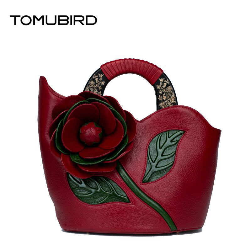 Tomubird(Tomubird)  2017 new Chinese limelight cowhide hand bag Original embossed craft retro handbag free shipping new for lenovo g585 notebook motherboard qawge la 8681p mainboard with amd on board cpu