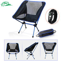 Jeebel Folding Camping Chairs Outdoor Beach Camp Chair Picnic Fishing Seat Moon Garden Beach Foldable Stoel Outdoor Furniture