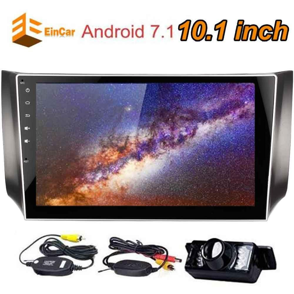 """2 Din OBDII 10.1/"""" Android 7.1 Car Stereo GPS Bluetooth WIFI Multimedia Head Unit"""