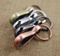 High Quality Retro Keychain Key Ring Carabiner Keychain Key Holder Llaveros Hombre Creative Portachiavi Chaveiro