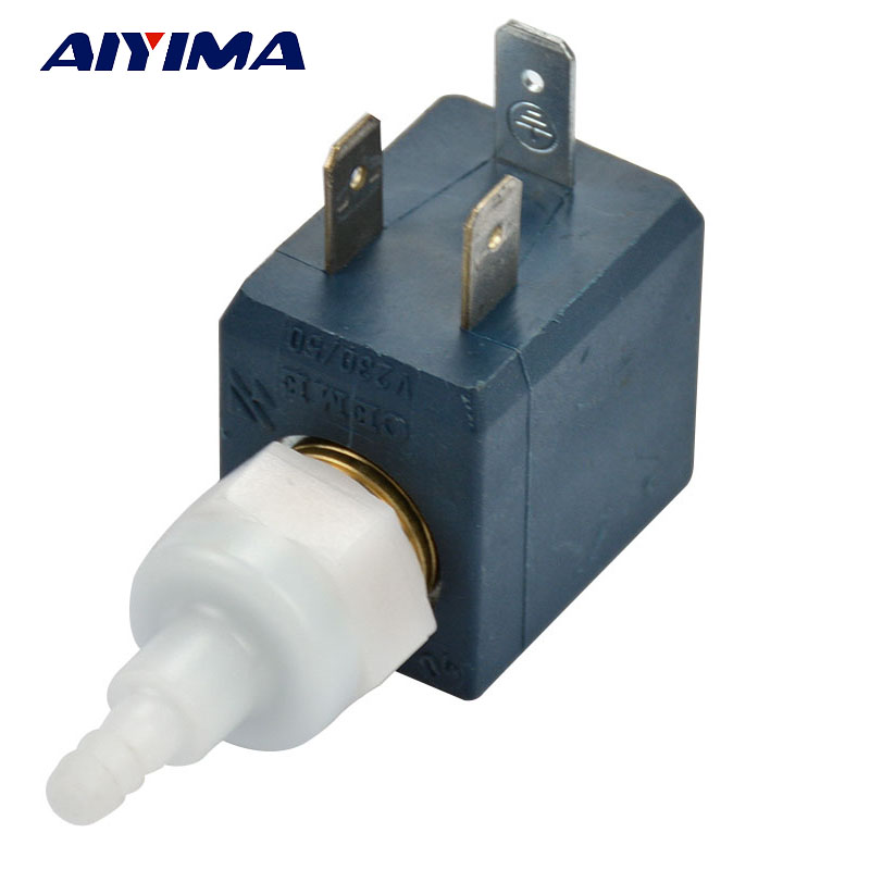AIYIMA 1pcs New CEME E2 230V Italian Miniature Valve Coffee Machine Coffee Solenoid ValveAIYIMA 1pcs New CEME E2 230V Italian Miniature Valve Coffee Machine Coffee Solenoid Valve