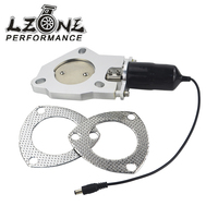 LZONE RACING 2 5 Inch Universal Exhaust Cutout Billet Butterfly Valve High Motor Brand New 2