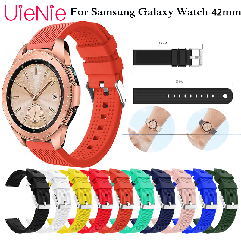 20mm Strap For Galaxy Watch Gear S2 Watchbands For Samsung Galaxy Watch 42mm Band For Samsung Galaxy Watch Active Accessories
