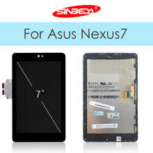 Original LCD For Asus Google Nexus 7 1st ME370 2012 LCD Display + Touch Screen Digitizer Glass With Frame Assembly