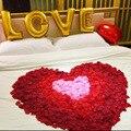 Muy Barato accesorios de la boda de Rose de Seda de los Pétalos de La Flor 2000 unids/lote Accesoires Rose Pétalos de Flores Románticas de La Boda El Matrimonio