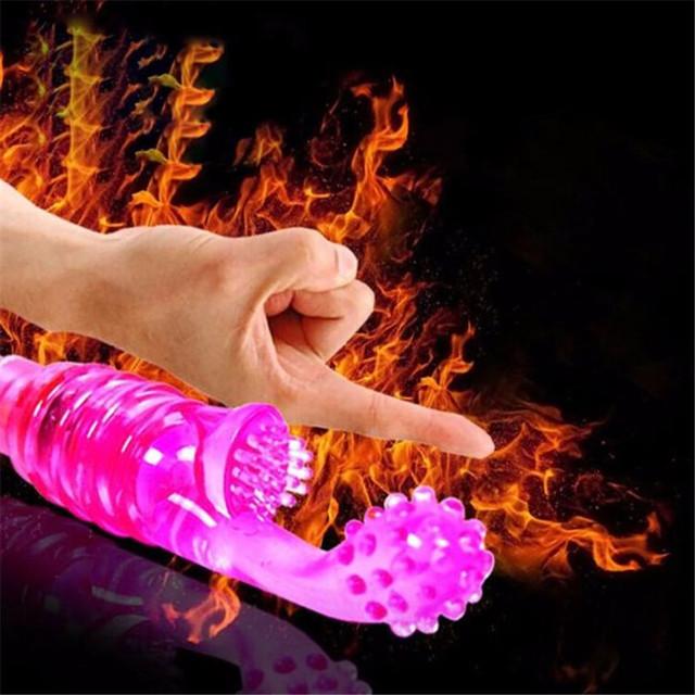 Women G-Spot Vibrating Dildo Clitoral Stimulator