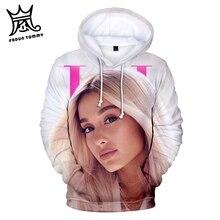 Frdun Tommy Ariana Grande 3D Print hoodies sweatshirt Jacket