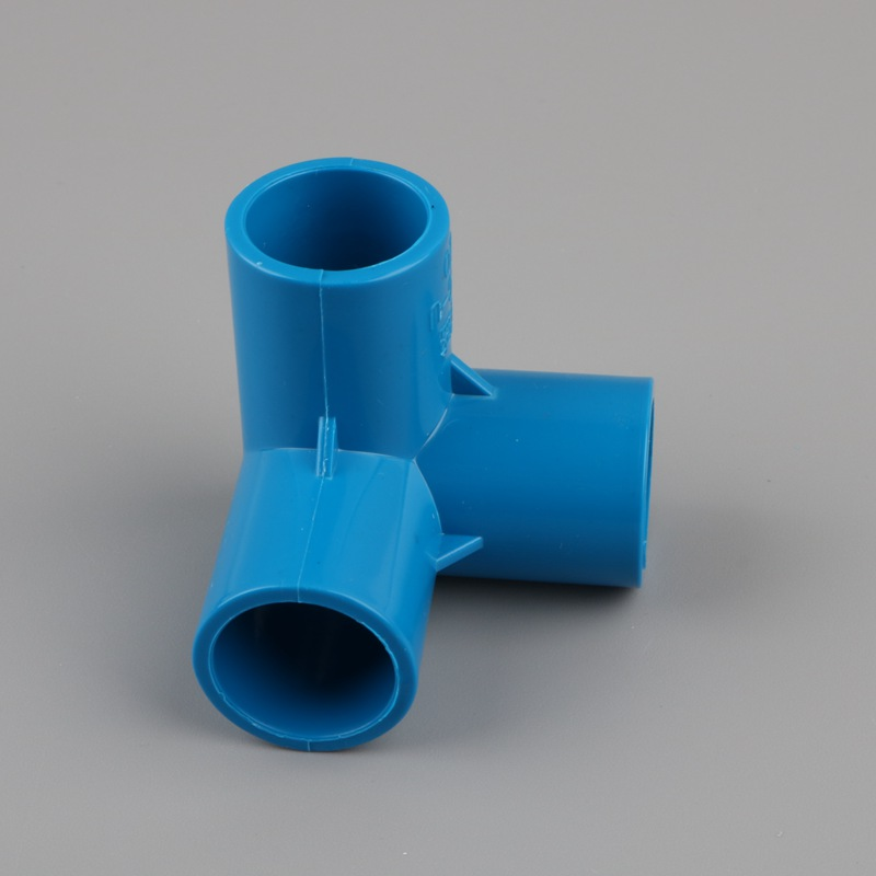 Image 4 - 2pcs PVC 3D three dimensional 3 way water pipe connector 20mm 25mm 32mm tube adapter garden irrigation fittings DIY shelf joint-in Garden Water Connectors from Home & Garden