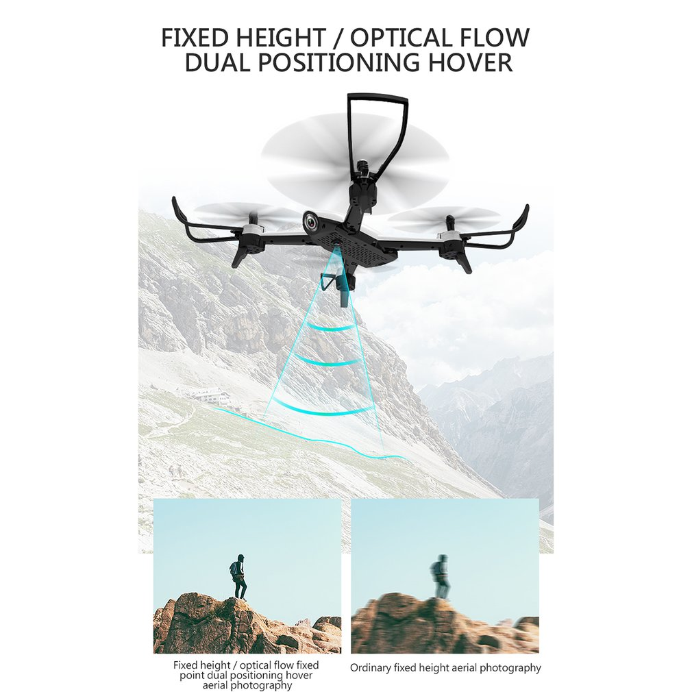 Image 4 - SG106 4K RC Drone Optische Stroom 1080P 720P HD Dual Camera Real Time Antenne Video RC Quadcopter Aircraft Helicopter Drone-in Camera Drones from Consumer Electronics