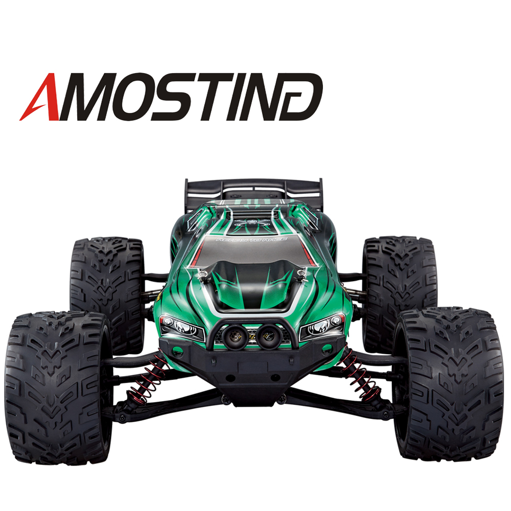 e3ffdfa47 AMOSTING RC Cars Remote Control Truck S912 High Speed Off-Road 33MPH 1 12  Scale Full Proportional 2.4Ghz 2WD Electric Cars