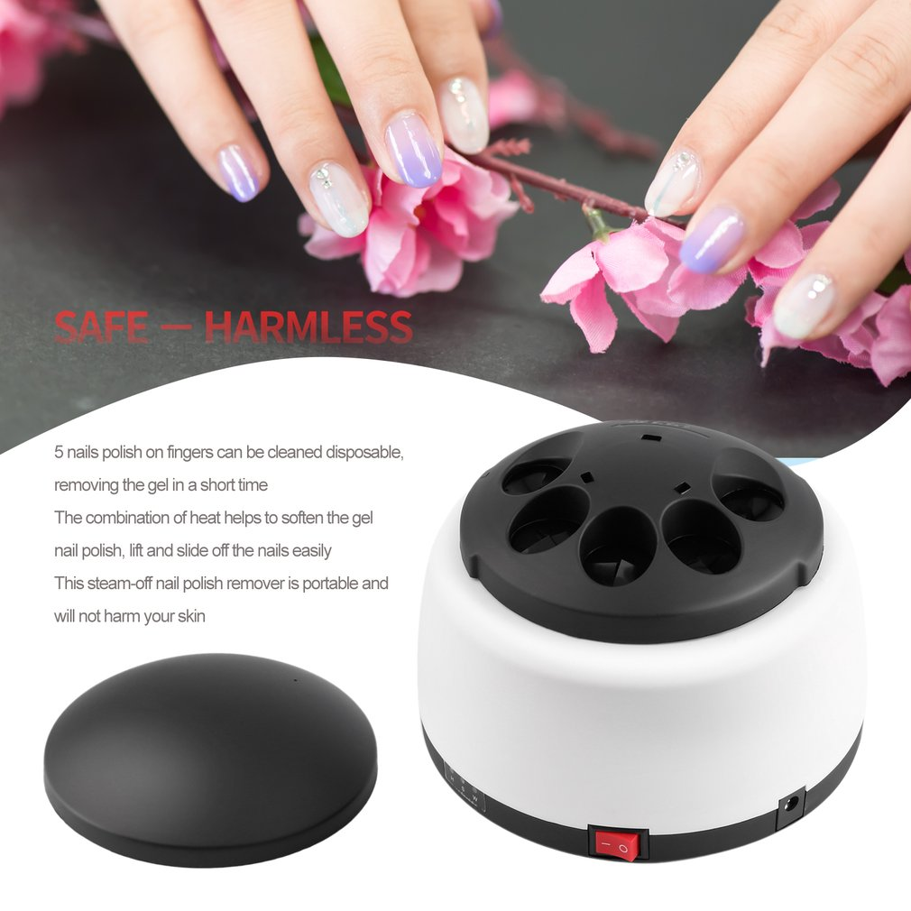 Electric UV Nail Gel Polish Remover Machine Nail Steamer Steam Off ...
