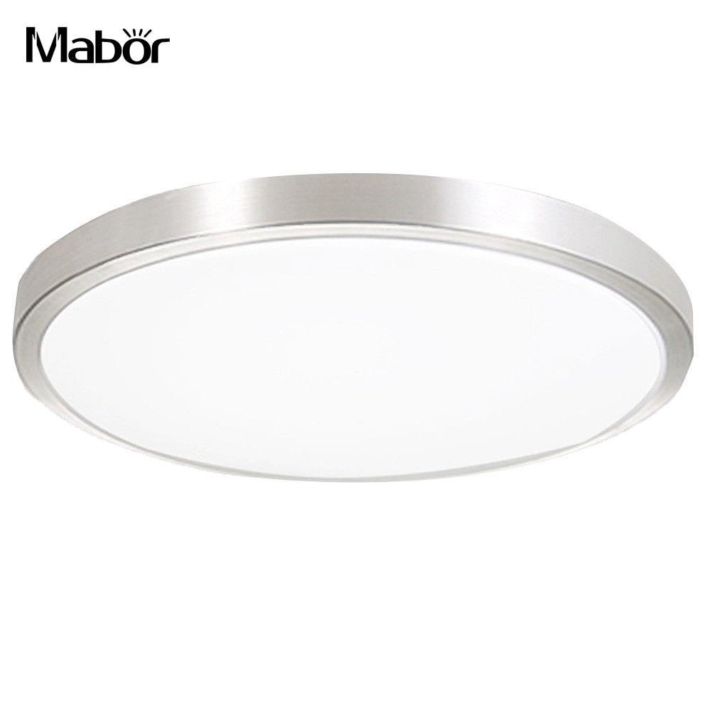 Lights & Lighting Led Lamp Durable Kitchen White Bathroom 24w Ac 220v Yard Ceiling Light Walkway Bedroom Ceiling Lights