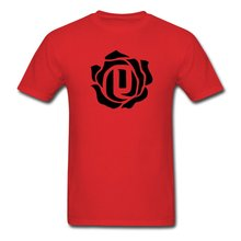 WANLIDA TS 2015 Newest Mens D Rose T-Shirts red Medium  Free shipping newest Fashion Classic Funny Unique gift