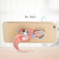 HOCO Universal 2 in 1 Magnetic Mobile Phone Car Holder Finger Ring Phone Stand Magnetic Mount For iPhone 7 6 5s Samsung Xiaomi