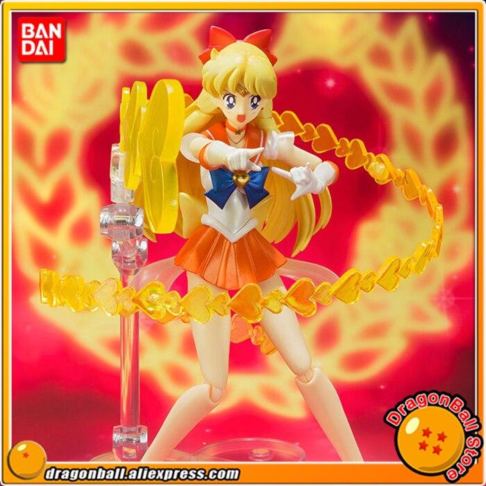 Anime Sailor Moon SuperS Original BANDAI Tamashii Nations S.H. Figuarts / SHF Exclusive Action Figure - Super Sailor VenusAnime Sailor Moon SuperS Original BANDAI Tamashii Nations S.H. Figuarts / SHF Exclusive Action Figure - Super Sailor Venus