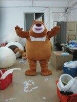 Высокое качество жира бурый медведь маскарадный костюм