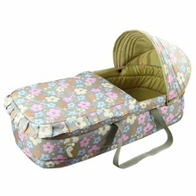 Фотография New Arrival Baby Bassinet Bed 0-7 month Baby Basket Portable Newborn Travel Bed Safety Infant Travel Cradle