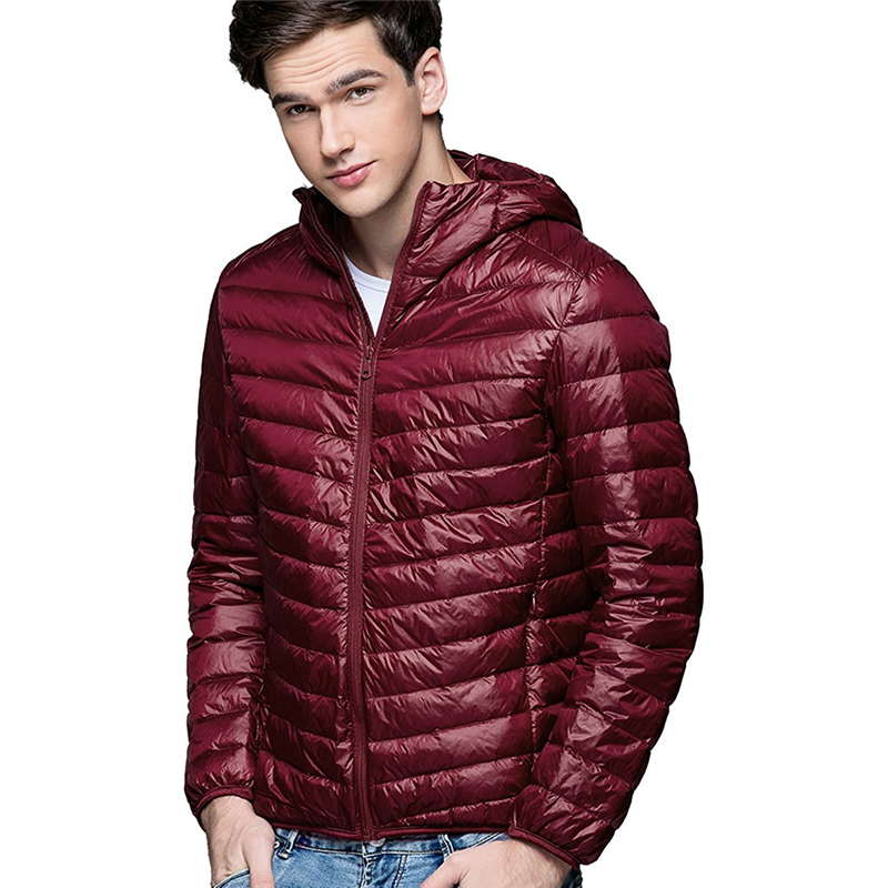 Hot Casual Ultralight  Men Winter Jacket Men'S Down Jackets Short Section Cotton Jacket Cotton Clothing