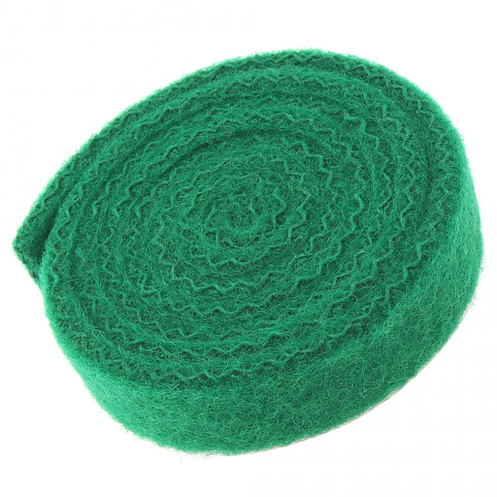 1400x25x8mm Piano Accessories Piano Back Wool Key Cloth Repair Parts For Piano Worsted Blackish Green