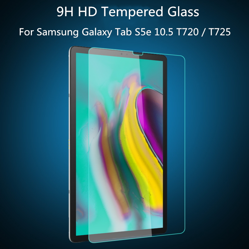 Ultra Thin 0.3mm 9H Transparent Tempered Glass For Samsung Galaxy Tab S5e 10.5 T720 T725 SM-T720 SM-T725 Screen Protector Film