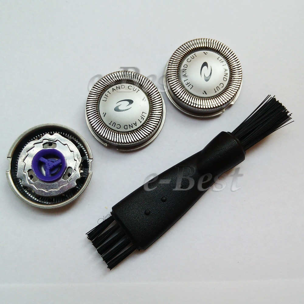 3pcs New Replace Shaver Head/Blades For <font><b>Philips</b></font> <font><b>Norelco</b></font> HQ HS HP Series <font><b>HQ3</b></font> HQ4 <font><b>HQ56</b></font> <font><b>HQ55</b></font> HQ300 HQ6 HQ916 HQ917 HQ918 HQ919Razor image