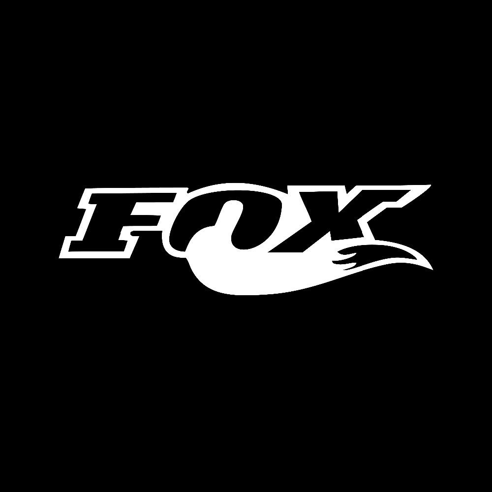 Bike sticker design - Fox Racing Motocross Window Sticker Vinyl Decal For Suzuki Dirt Bike China Mainland