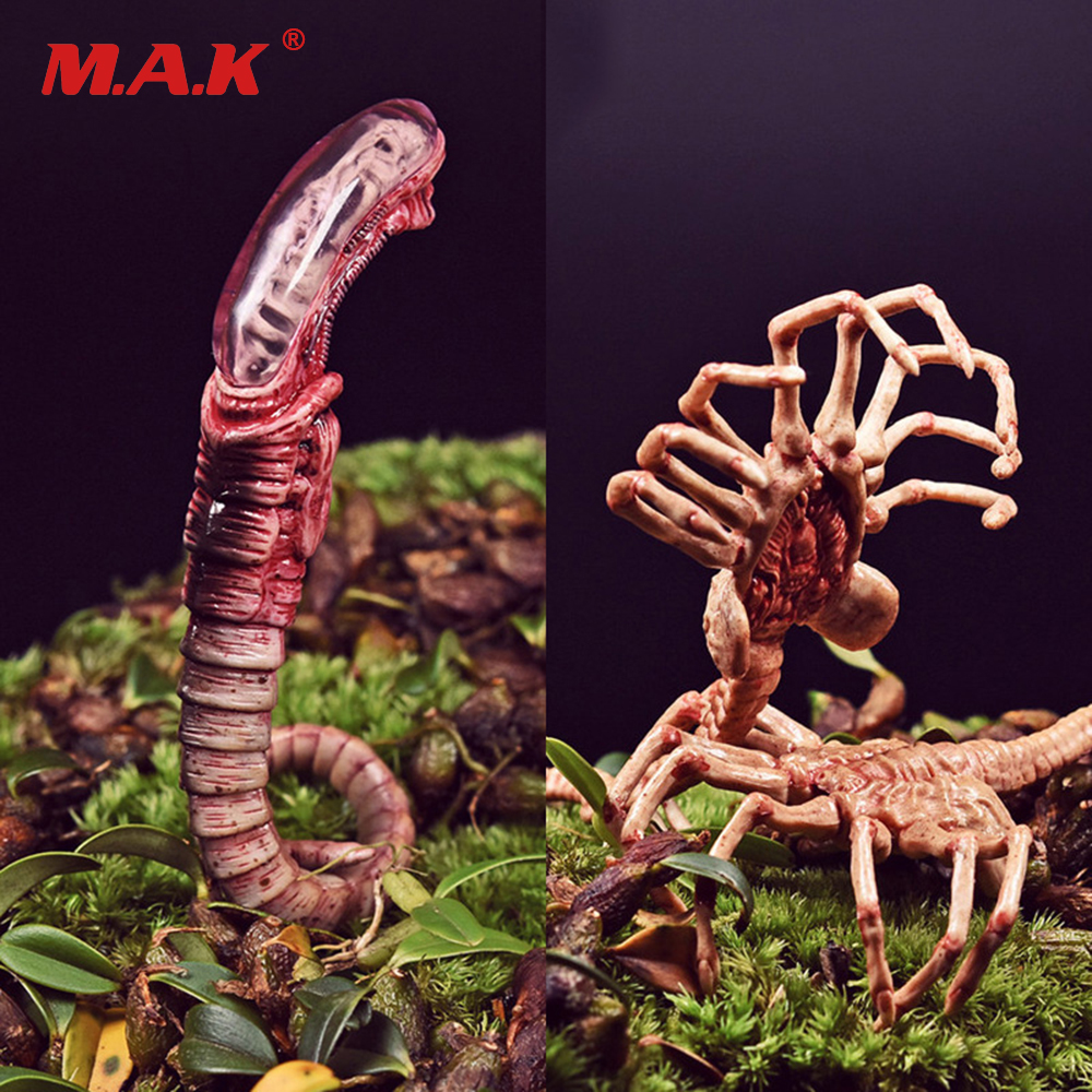 1/6 Scale Alien Predator Chestburster Facehugger Model FG044-A Xenomorph Egg Facehugger Chestburster For 12 inches Action Figure a model for developing rating scale descriptors